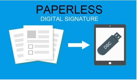 Paperless Digital Signature