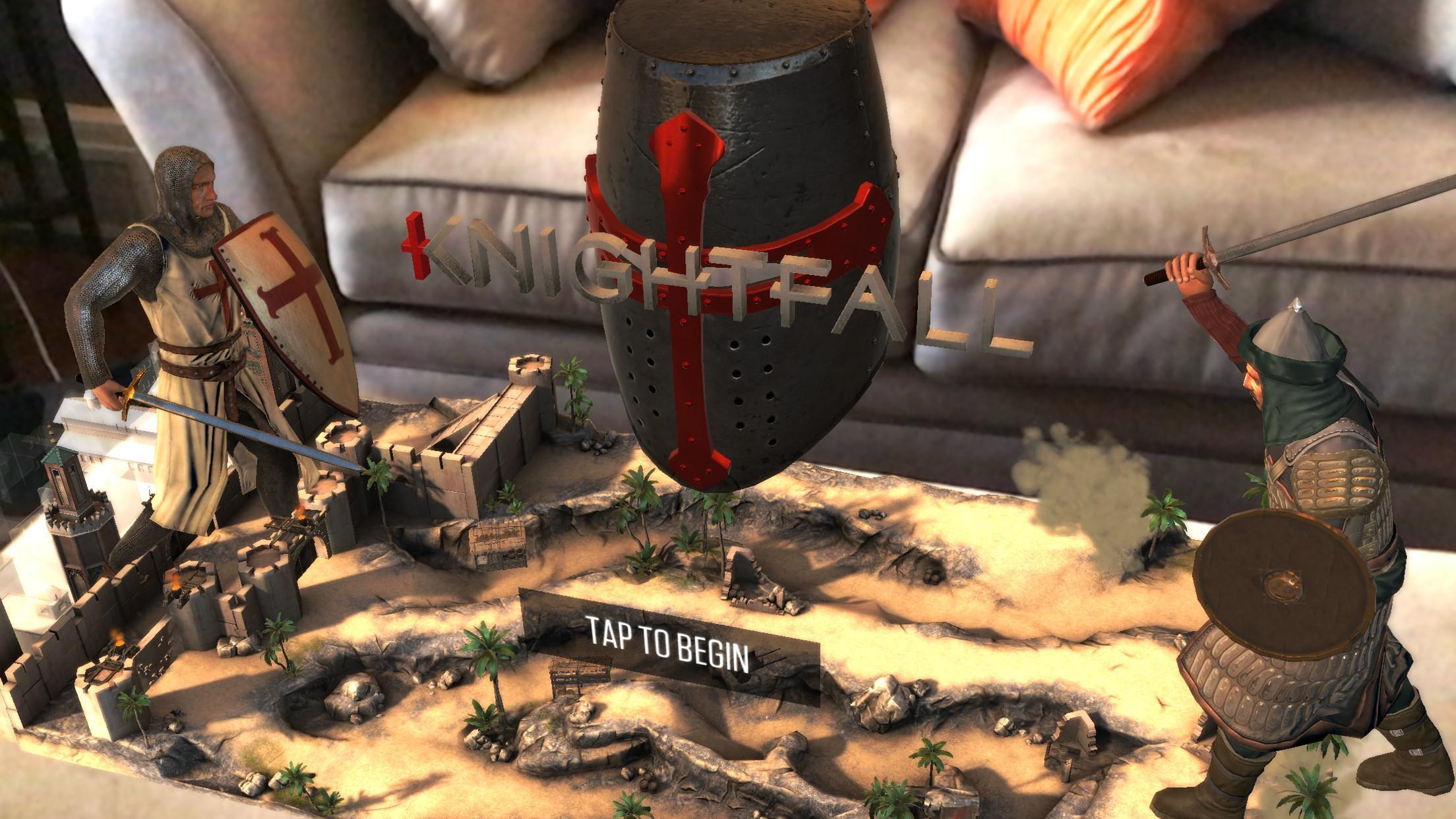 KnightfallAR game