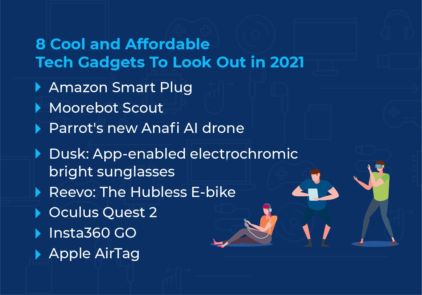 Tech Gadgets.