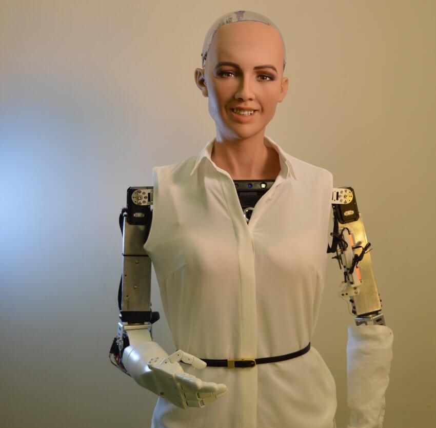 Sophia Humanoid Robot